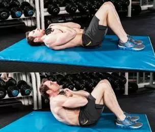 几个简单的腹直肌锻炼方法