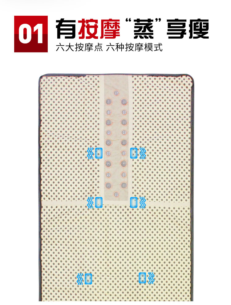 扶元FT102LA-2001-按摩汗蒸毯