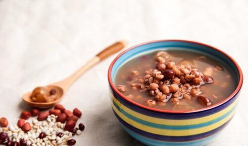 红豆薏米快速减肥法